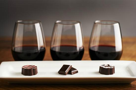 FOR THE LOVE OF CHOCOLATE AND WINE