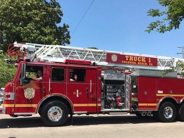 Potomac River Festival - Fireman's Parade