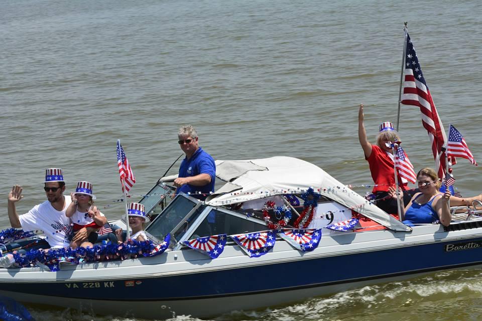 Potomac River Festival Boat Parade