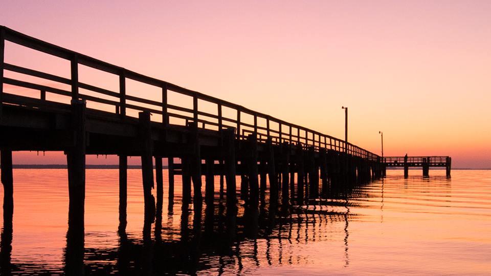 Colonial Beach Town Pier