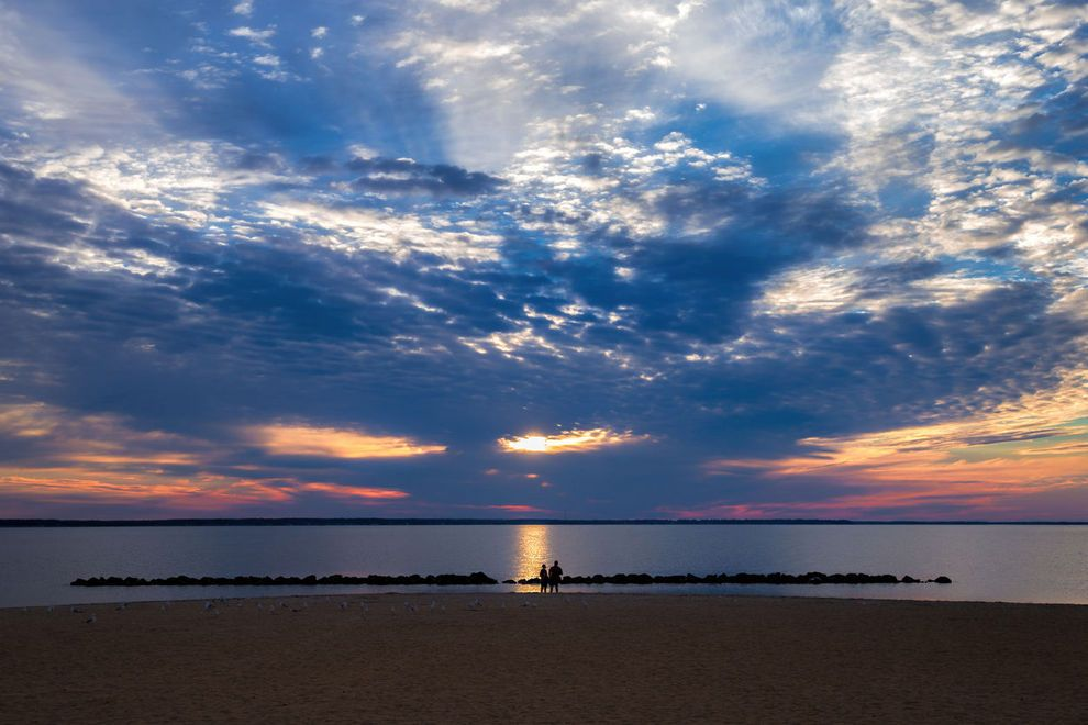 COLONIAL BEACH NAMED BEST BEACH IN VIRGINIA